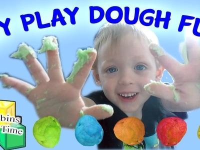 Super Fun & Easy! DIY Homemade Play Dough Fun Activities for Kids Corbins Playtime