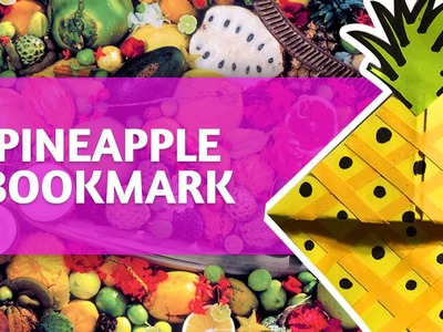 [Time-Lapse] - DIY Pineapple Bookmark Corner  Tutorial