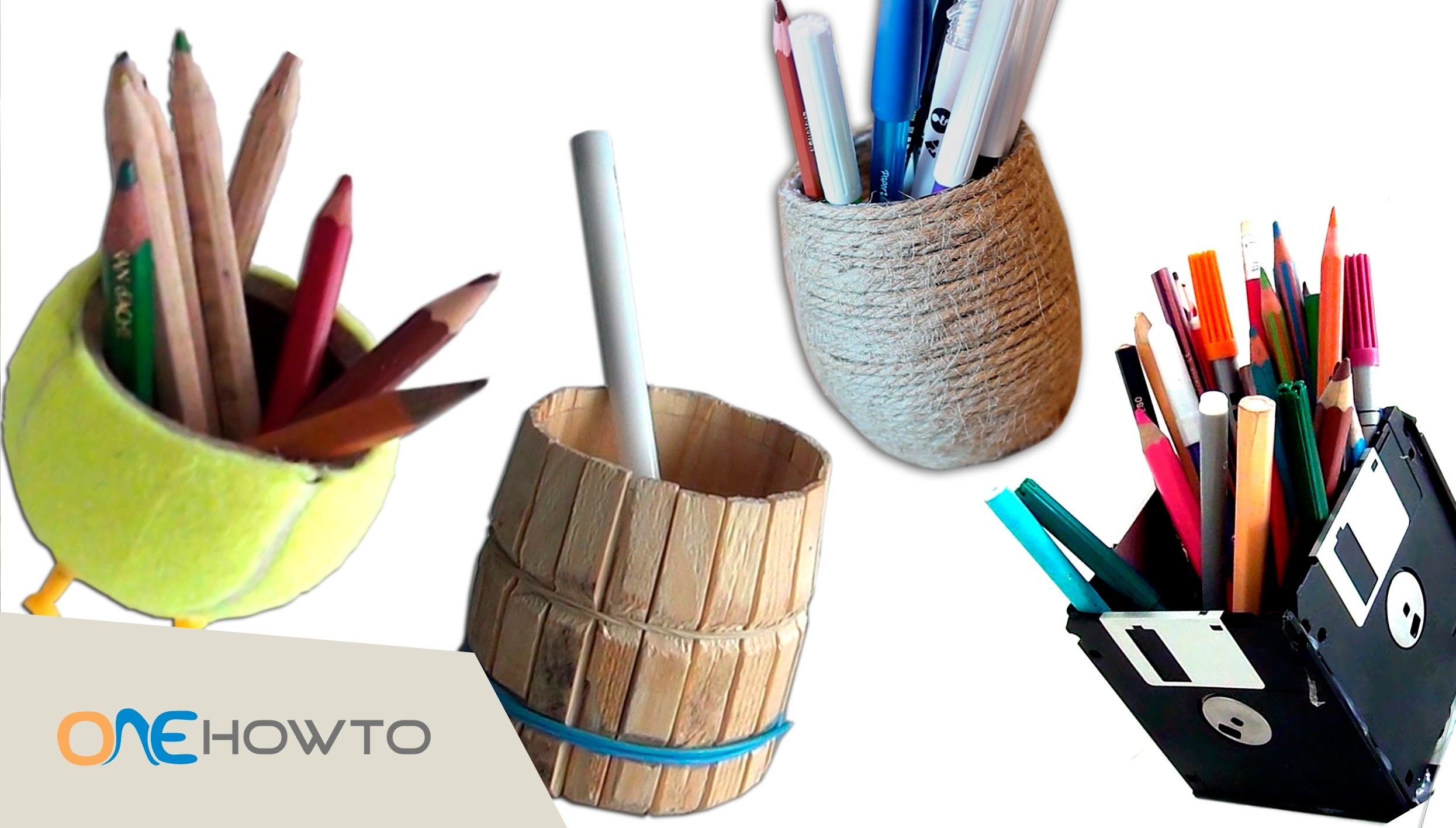 4 diy pencil holders crafts with waste material my for Out of waste material