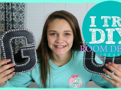 CHEER DIY | ROOM DECOR | Emma Marie's World