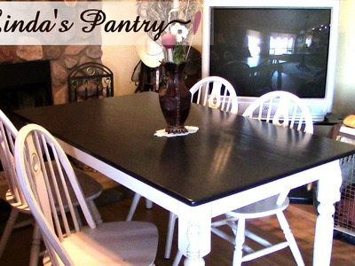 ~Dining Table DIY Make Over With Linda's Pantry~