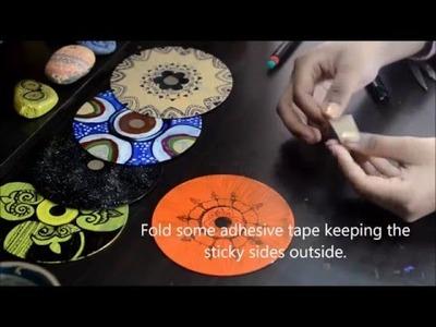 DIY - CD Wall Decor