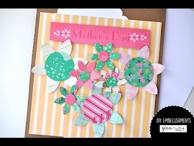 DIY Embellishments Using Project Life Cards: Process Video
