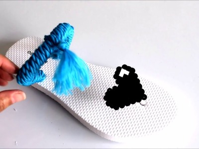 {DIY} Flip Flops and Perler Beads