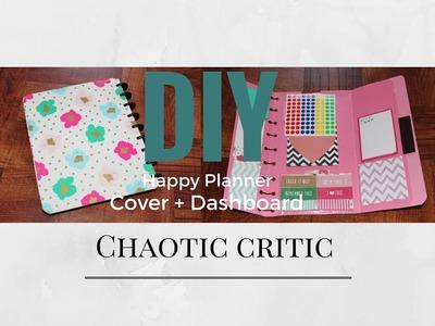 DIY Happy Planner Dashboard & Cover