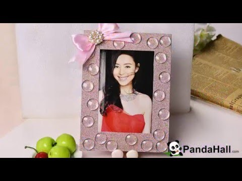 DIY Home Decor - Making a Personalized Photo Frame with Washi Tapes and Beads