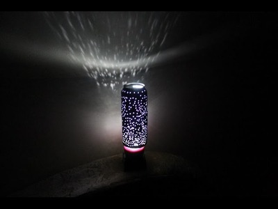 DIY How to make light for your room from a can of Pepsi