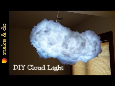 DIY - How to make this awesome color changing cloud light
