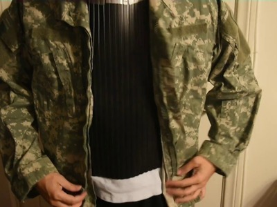 DIY How to make  your own Paintball Armor. Vest for under $10