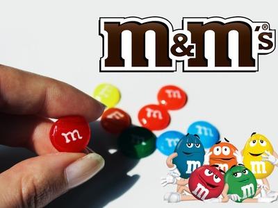 DIY: M&M'S con COLLA A CALDO. Hot glue without mold