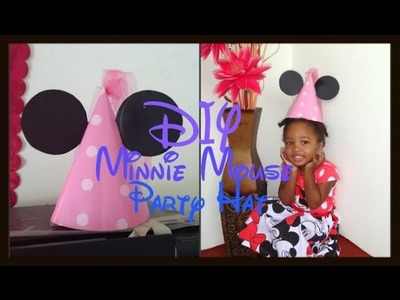 DIY Minnie Mouse Party Hat!!