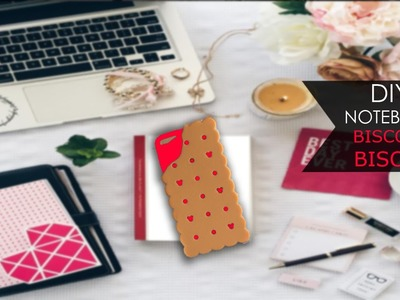 DIY Notebook ❃ Biscotto | Cookie