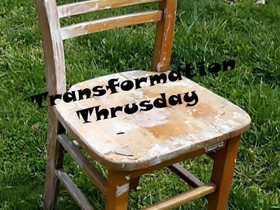 DIY Old Chair Made New!!