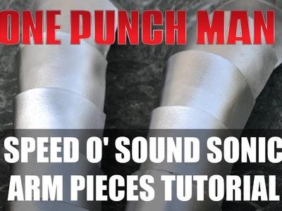 DIY Speed o' Sound Sonic Cosplay: Arm Pieces Tutorial