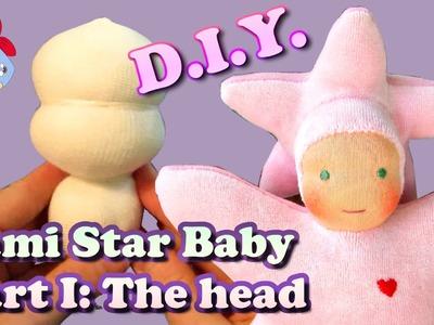 DIY | Star Baby Doll Part 1: Making the head | Sami Doll Tutorials