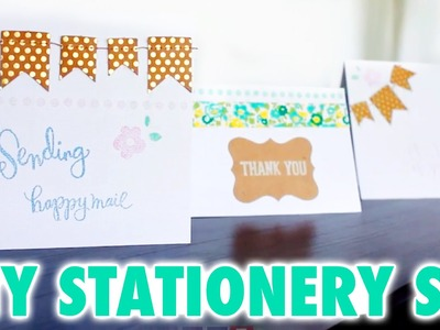DIY Stationery Set - HGTV Handmade