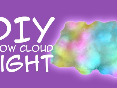DIY Welcome to Night Vale Glow Cloud Light: Crafty McFangirl Tutorial