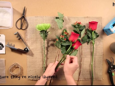 How to : DIY Flower Bouquet
