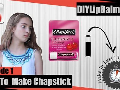 How To Make Chapstick   DIY Chapstick