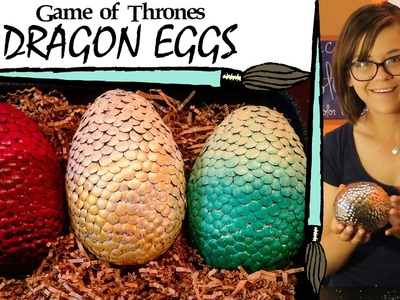 Kate Creates DIY Game of Thrones Dragon Eggs