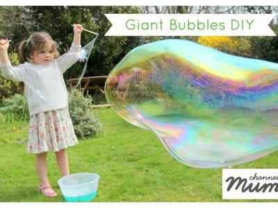 Kids Craft: Giant Bubbles DIY