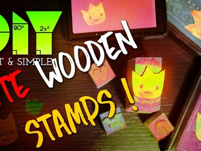 LEARN HOW TO MAKE : AMAZING WOODEN STAMP | DIY! | FULL HD