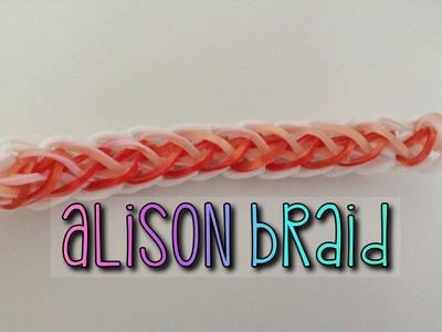 Alison braid bracelet tutorial