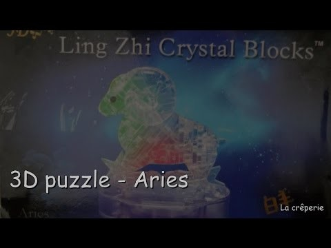 Aries 3D Crystal Puzzle - DIY kit