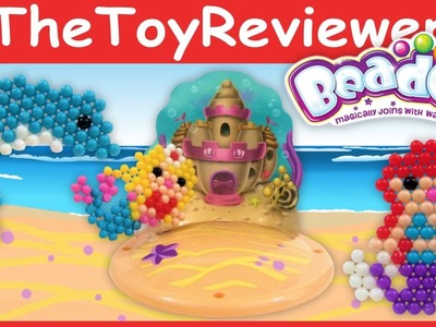 Beados Mermaid Castle Refill Theme Pack Tutorial and Review by TheToyReviewer