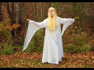 Cheap and Easy DIY Galadriel Costume