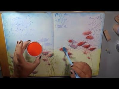 DIY Art Journaling With Pan Pastels