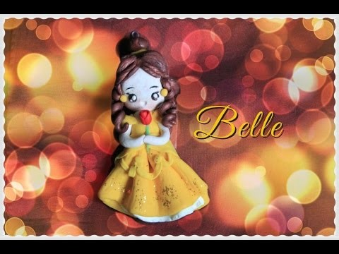 Diy: Belle by the Beauty and the Beast -polymer clay