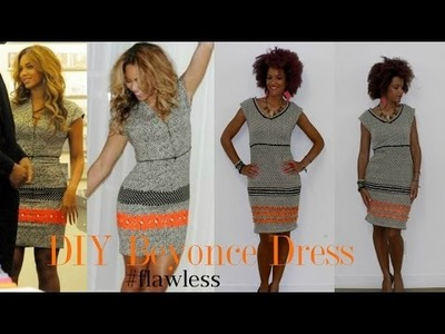 DIY Beyonce Nicole Miller's Inspired Dress | DIY Clothes
