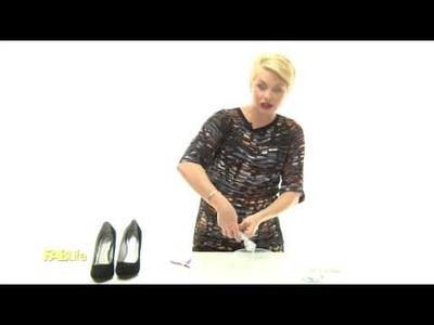 DIY Dazzle Shoes