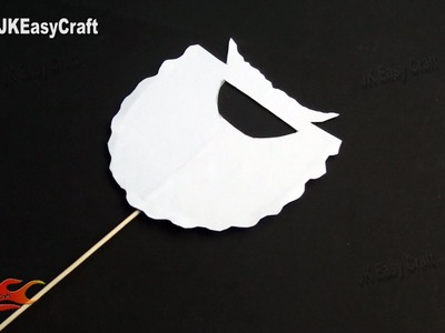 DIY Easy Christmas Party Prop  Photo Booth Props   How to make   JK Easy Craft 111
