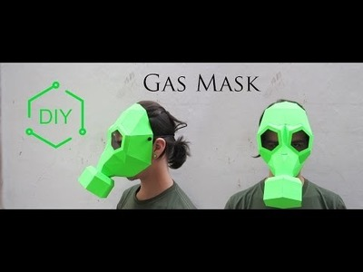 DIY - Gas Mask. Geometric Mask. Wintercroft