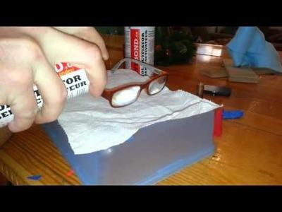 DIY- How I Fix Glasses-Broken Arm