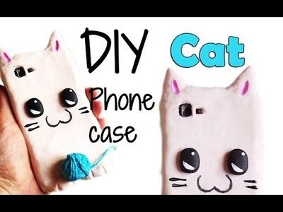 DIY | Kawaii Cat Phone Case Tutorial - Cover Silicone