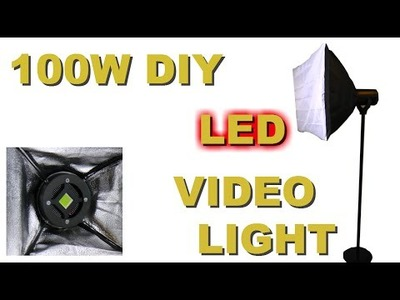DIY LED Video light