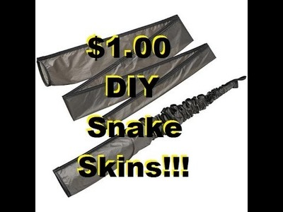 DIY Loofah $1 snake skin Part 1 of 2!