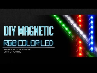 DIY Magnetic RGB LED for PC Cabinets