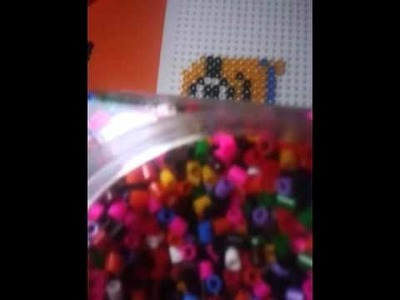 DIY MINION con pyssla.hama beads tutorial