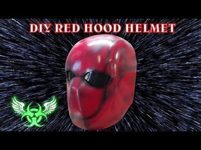 DIY RED HOOD FOAM HELMET E 19