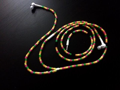 DIY Stylish And Tangle Free Earbuds