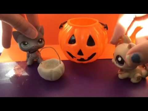 DIY trick or treat basket. with eclipsed lps