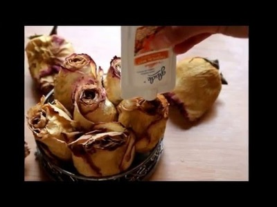 Diy using Dry Roses