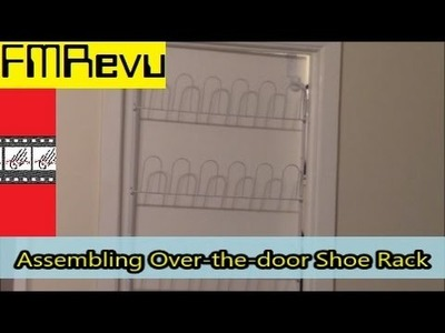 How to Assemble Over the door shoe Rack | DIY Home Renovation Project