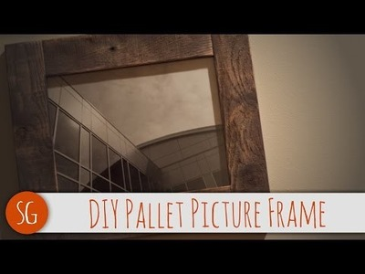 How-To | DIY Pallet Picture Frame that you can make! | Voiceover