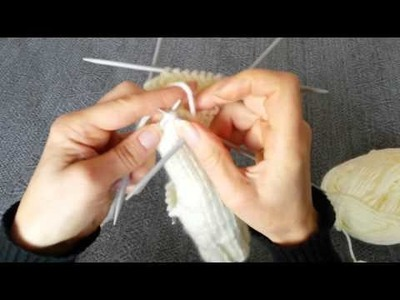 How to knit mittens step by step (DIY)