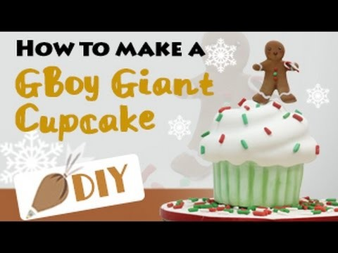 HOW TO MAKE a Giant Gingerbread Boy Cake DIY#6